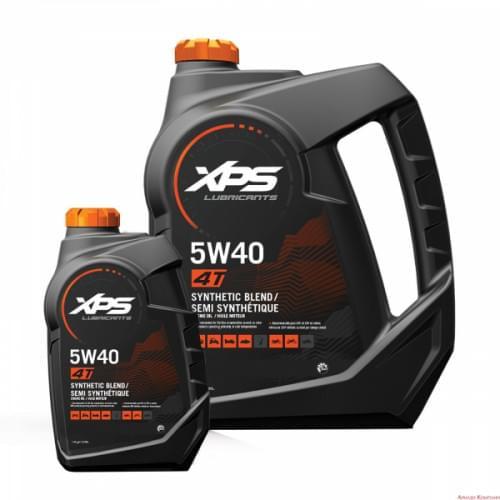 Полусинтетическое масло BRP XPS для 4-х тактных двигателей, летнее, 5w-40 946 мл. 293600121